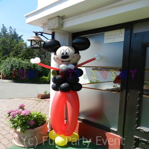 Decor baloane Mickey HP